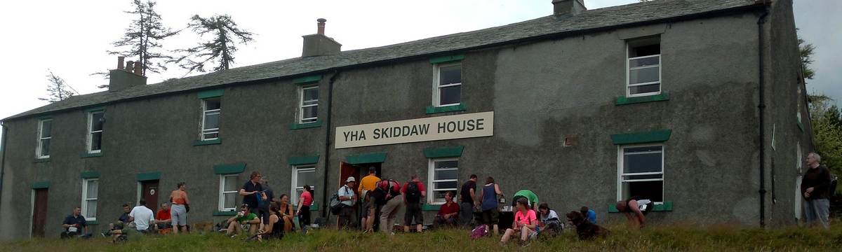 Skiddaw House on the Cumbria Way