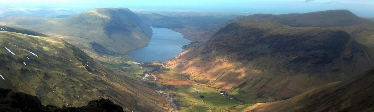Wastwater from Great Gable
