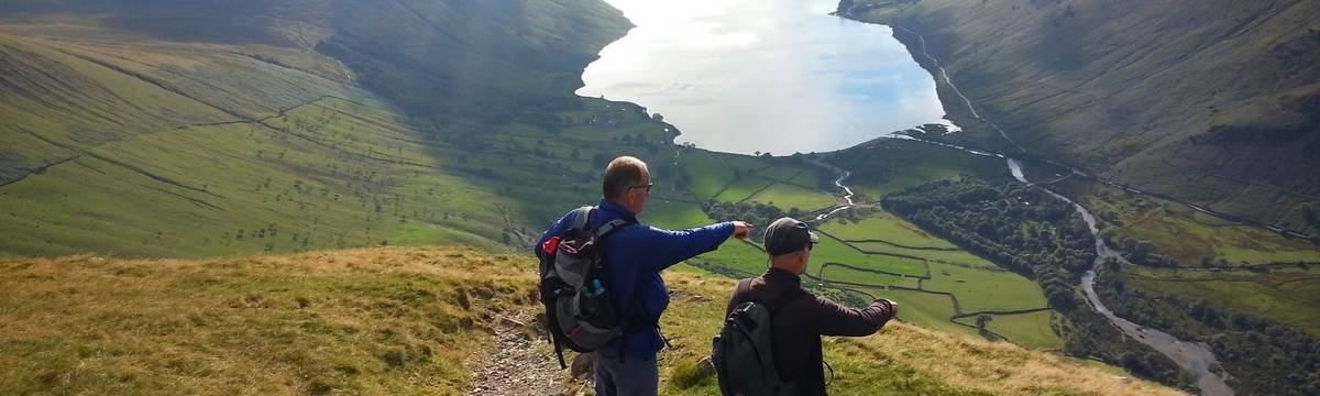 Descending to Wasdale