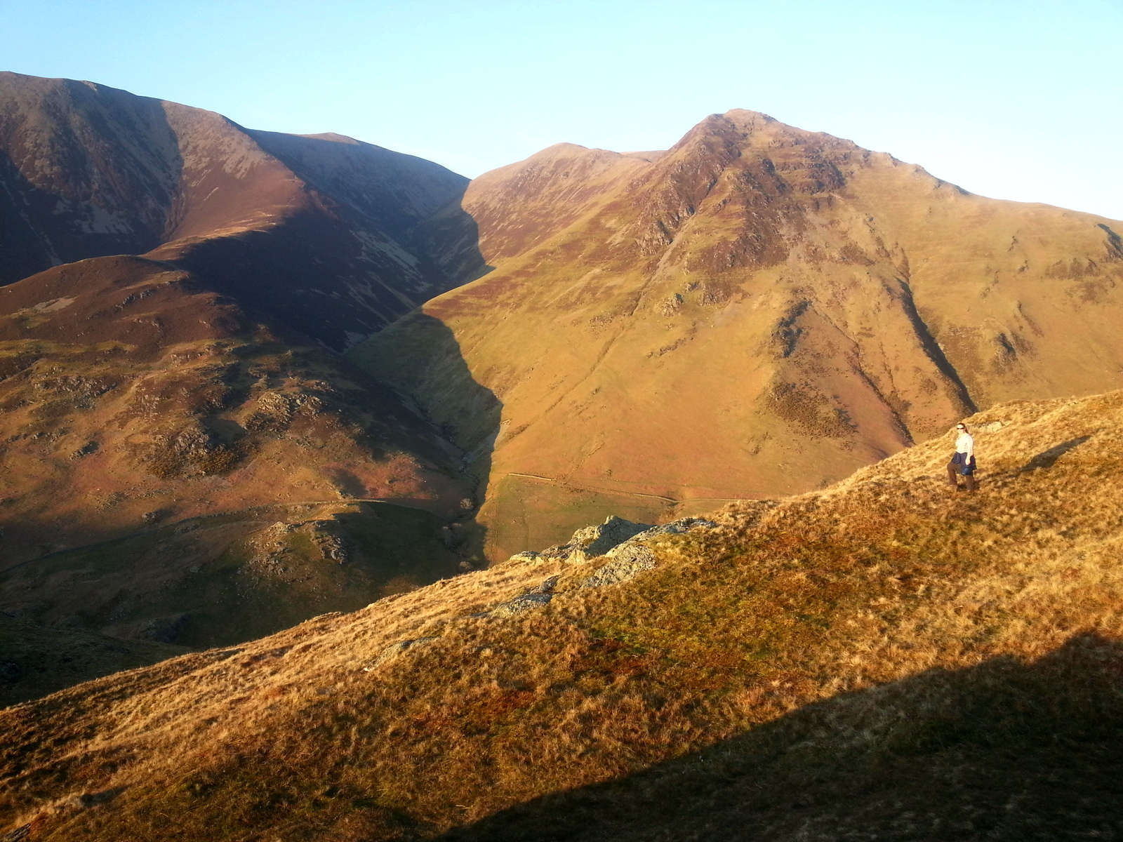 Whiteless Pike and Lad Hows, Buttermere