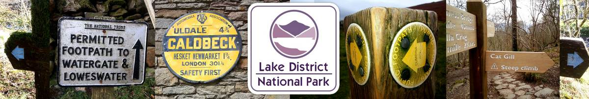 Lake District signs